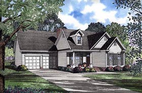 Country Traditional House Plan 62047 Elevation