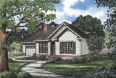 Plan Number 62048 - 1598 Square Feet