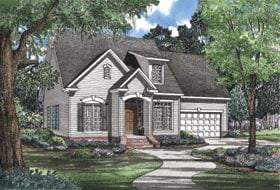 Plan Number 62051 - 1684 Square Feet