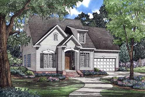 Traditional House Plan 62051 Elevation