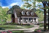 Plan Number 62073 - 1832 Square Feet