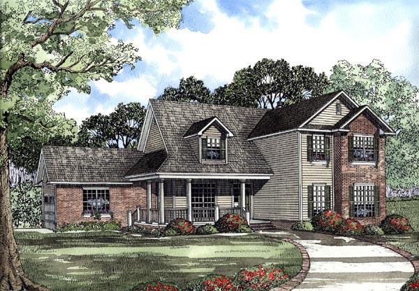 House Plan 62081