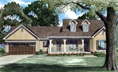 Plan Number 62084 - 1813 Square Feet