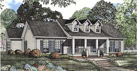 Country , Ranch House Plan 62086 with 3 Beds, 2 Baths, 2 Car Garage Elevation