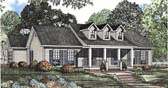 Plan Number 62086 - 1597 Square Feet