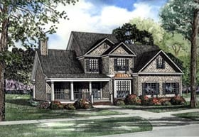 Country Traditional House Plan 62089 Elevation