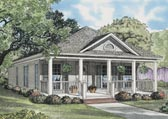 Plan Number 62096 - 1120 Square Feet