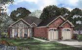 Plan Number 62107 - 1287 Square Feet