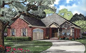 Traditional House Plan 62109 Elevation