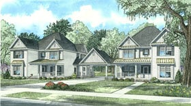Country , Southern , Traditional House Plan 62128 with 5 Beds, 4 Baths, 2 Car Garage Elevation