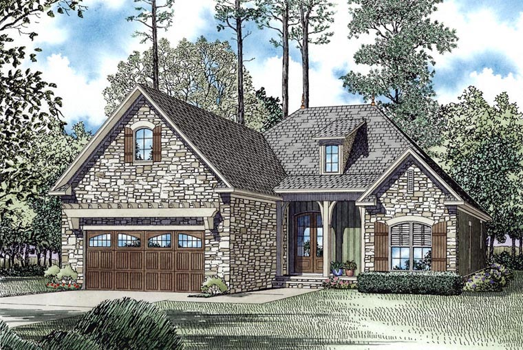 House Plan 62130 Elevation