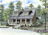 Plan Number 62131 - 1451 Square Feet