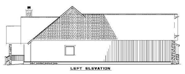 Bungalow, Country, Craftsman, One-Story House Plan 62145 with 3 Beds, 2 Baths, 2 Car Garage Picture 1