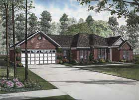 Traditional House Plan 62154 Elevation