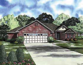 Traditional House Plan 62167 Elevation
