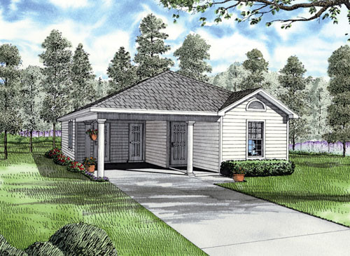 Traditional House Plan 62171 Elevation
