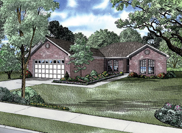 Traditional House Plan 62177 Elevation
