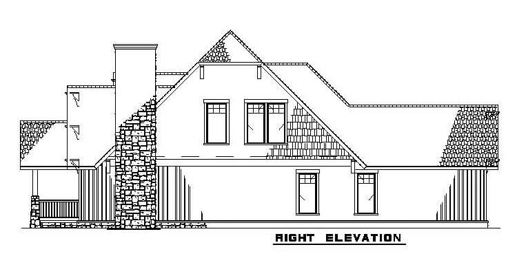Bungalow, Country, Craftsman House Plan 62183 with 3 Beds, 3 Baths, 2 Car Garage Picture 1