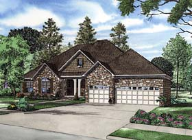 Bungalow Traditional House Plan 62189 Elevation