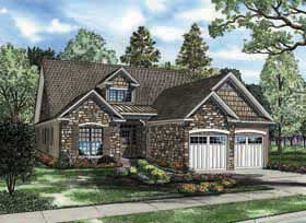 Bungalow Traditional House Plan 62190 Elevation