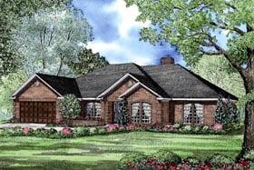 House Plan 62199 Elevation