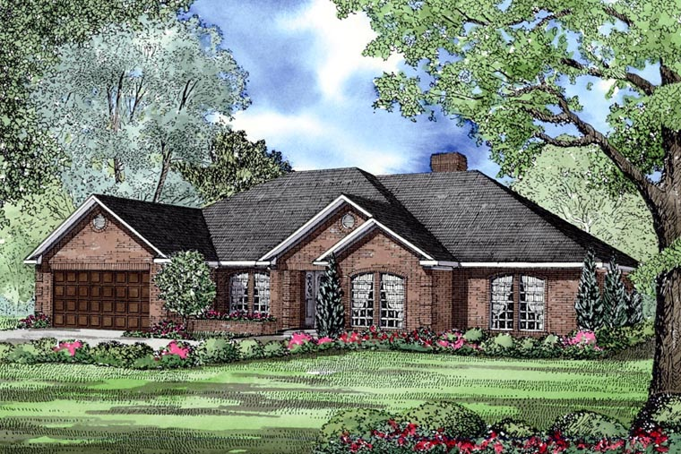 House Plan 62199 Elevation