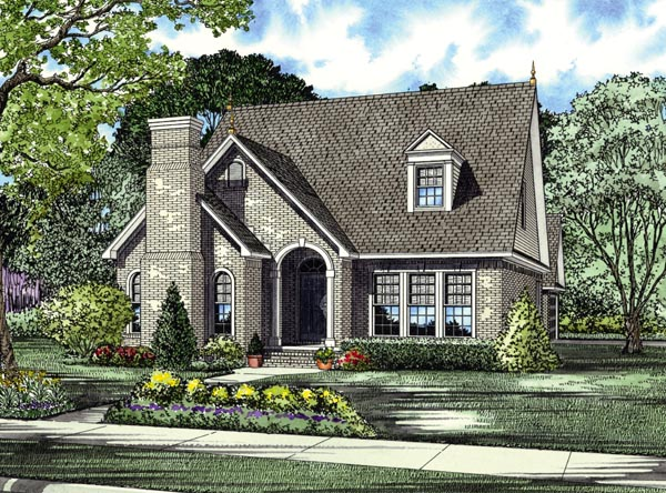 House Plan 62201 Elevation