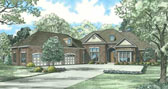 Plan Number 62205 - 4300 Square Feet