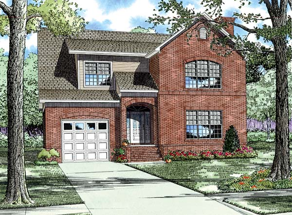 House Plan 62224 Elevation