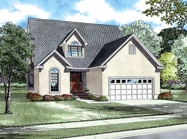 House Plan 62226 Elevation