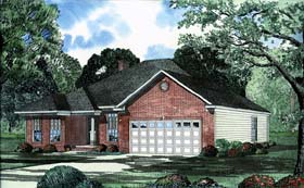 House Plan 62235 Elevation