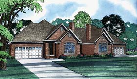 Multi-Family Plan 62238 Elevation