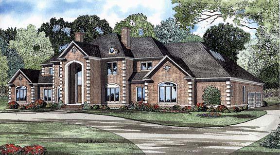 House Plan 62243 Elevation