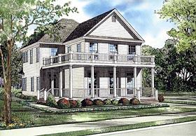 House Plan 62244 Elevation