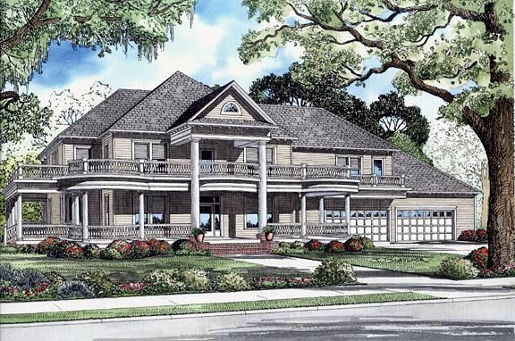 House Plan 62247 Elevation