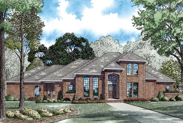 House Plan 62248 Elevation