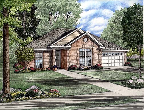House Plan 62257 Elevation