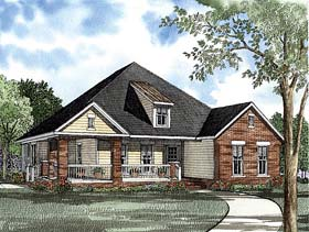 House Plan 62261 Elevation