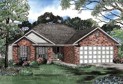 House Plan 62264 Elevation