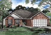 Plan Number 62264 - 1304 Square Feet