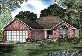 House Plan 62270 Elevation
