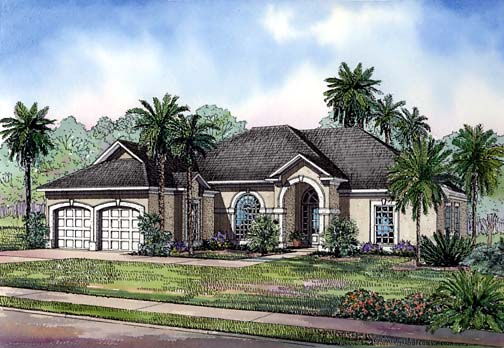 House Plan 62279 Elevation
