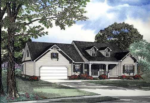 House Plan 62281