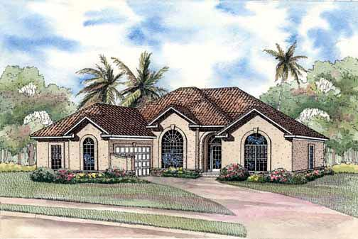 House Plan 62285 Elevation