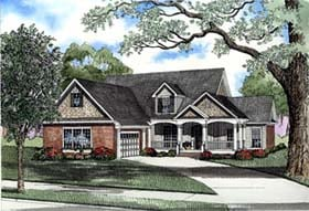 House Plan 62299 Elevation
