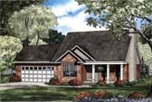 Plan Number 62304 - 1294 Square Feet