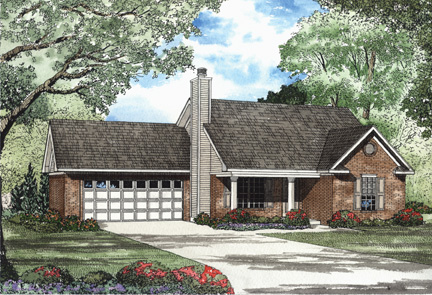 House Plan 62309 Elevation