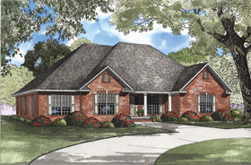 House Plan 62314 Elevation