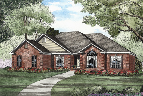 House Plan 62317 Elevation