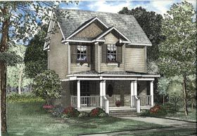 House Plan 62323 Elevation
